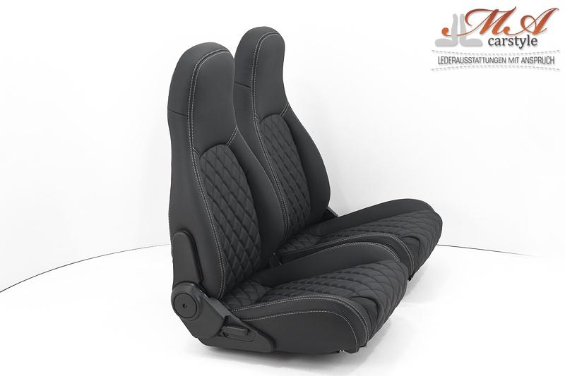 ledersitze mazda mx 5 na miata echtleder schwarz schwarz. Black Bedroom Furniture Sets. Home Design Ideas