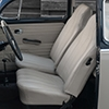 Integrated headrest