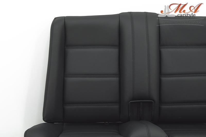 Neu-Beziehen der 2 Vordersitze und Rückbank mit Echtleder [BMW 3
