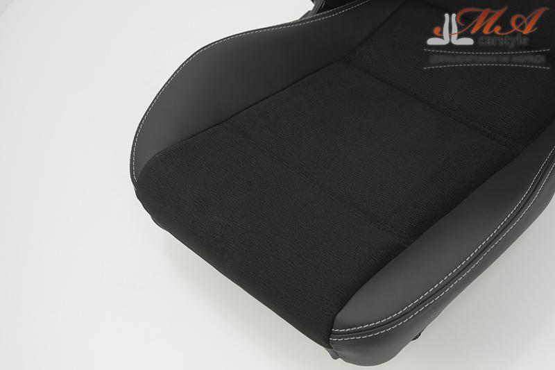 neu beziehen der 2 sitze mit echtleder mazda mx 5 nb. Black Bedroom Furniture Sets. Home Design Ideas