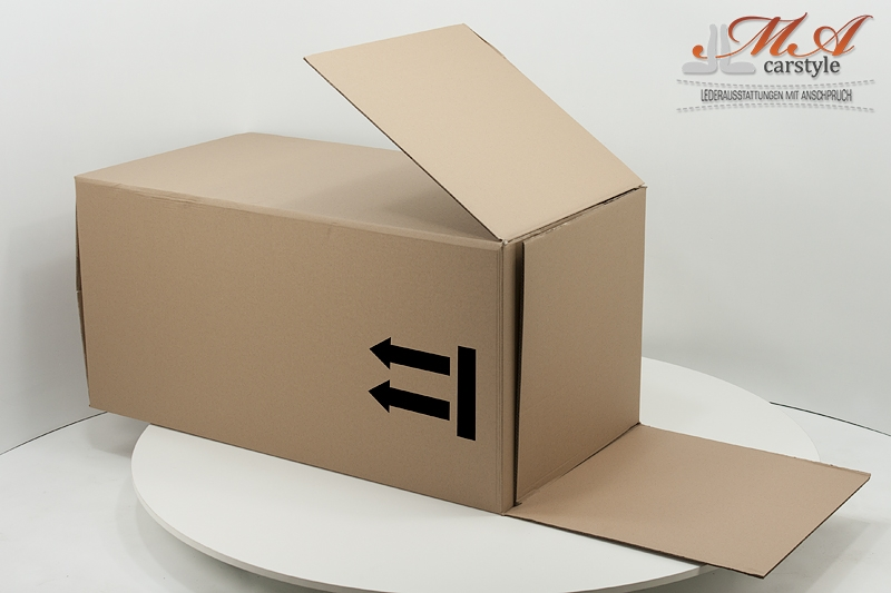 Set: 2 X Karton [110 x 55 x 60 cm] und 2 X Karton [93 x 55 x 15]