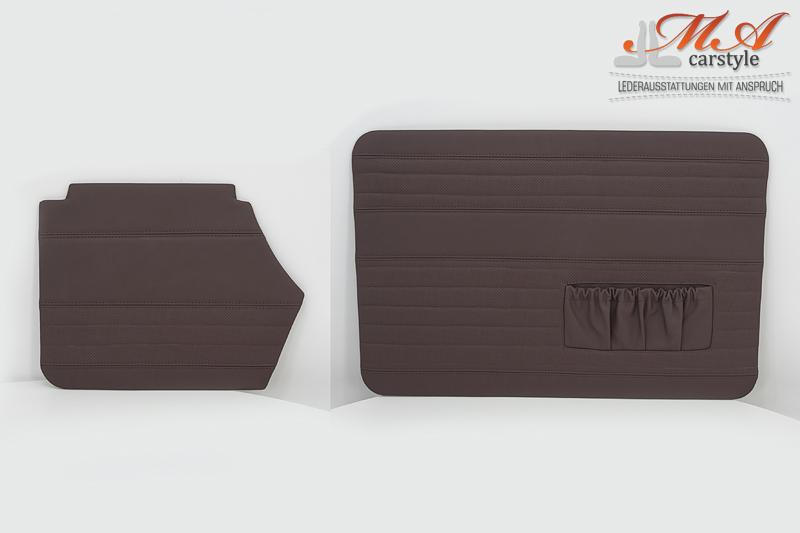 Set: Türverkleidung vorne und hinten [VW Käfer Cabrio 1300]