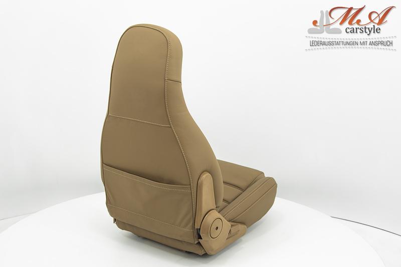 Lederbezüge für Sitze [Mazda MX-5 NA Miata] Echtleder Braun