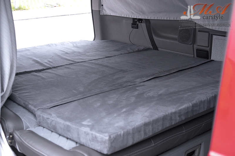 komfortmatratze matratze 3 teilig vw t4 multivan. Black Bedroom Furniture Sets. Home Design Ideas
