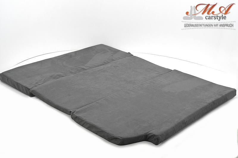 Komfortmatratze Matratze 3 Teilig Vw T4 Multivan Stoff Grau