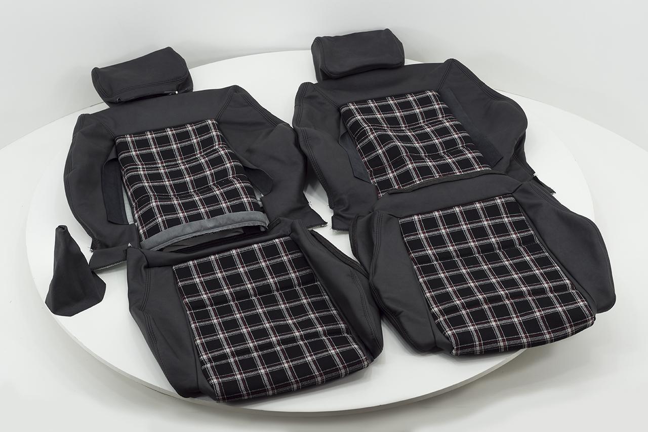 lederbez ge f r vordersitze und r ckbank vw golf i ca. Black Bedroom Furniture Sets. Home Design Ideas