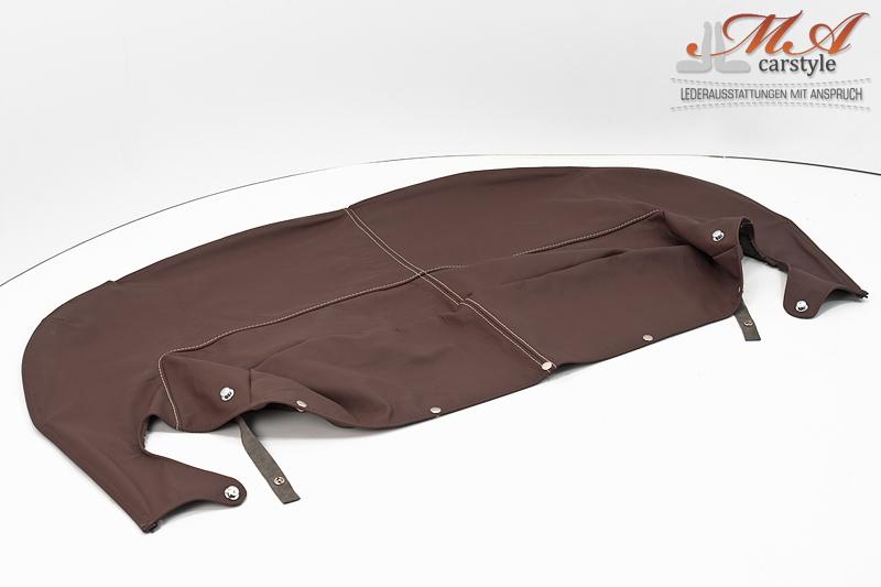 Persenning (im Tausch) [Mazda MX-5 NA] Echtleder Braun (Terra)-Braun