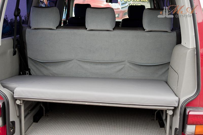Matratzenschoner [VW T4 Multivan 1996-2003] Kunstleder Grau