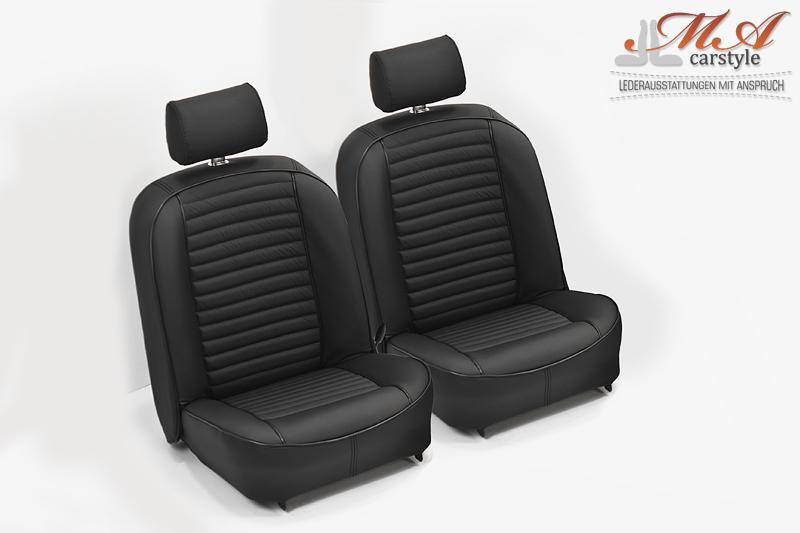 neu beziehen der 2 sitze mit echtleder inkl schaum. Black Bedroom Furniture Sets. Home Design Ideas